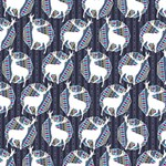 Geometric Deer Retro Pattern PARTY 3D Greeting Card (8x4) Inside