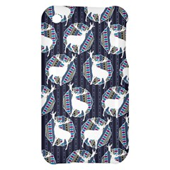Geometric Deer Retro Pattern Apple iPhone 3G/3GS Hardshell Case