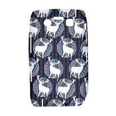 Geometric Deer Retro Pattern Bold 9700