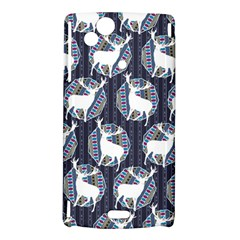 Geometric Deer Retro Pattern Sony Xperia Arc