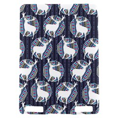 Geometric Deer Retro Pattern Kindle Touch 3G