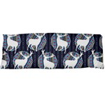 Geometric Deer Retro Pattern Body Pillow Case Dakimakura (Two Sides) Back