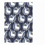 Geometric Deer Retro Pattern Large Garden Flag (Two Sides) Back