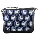 Geometric Deer Retro Pattern Messenger Bags Front