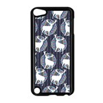 Geometric Deer Retro Pattern Apple iPod Touch 5 Case (Black) Front