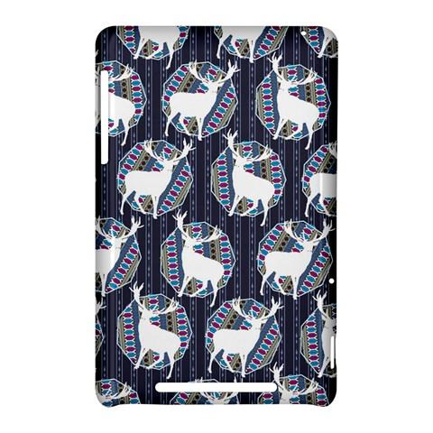 Geometric Deer Retro Pattern Nexus 7 (2012)
