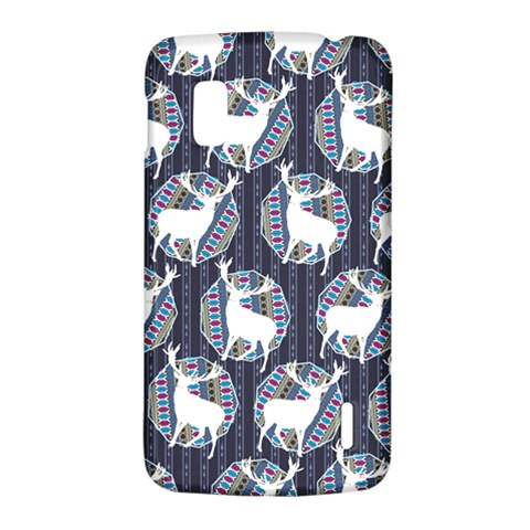 Geometric Deer Retro Pattern LG Nexus 4