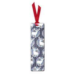 Geometric Deer Retro Pattern Small Book Marks