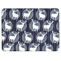Geometric Deer Retro Pattern Samsung Galaxy Tab 7  P1000 Flip Case