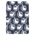 Geometric Deer Retro Pattern Flap Covers (L)  Front