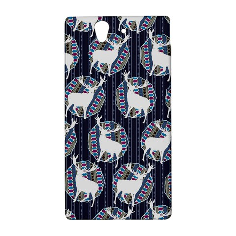 Geometric Deer Retro Pattern Sony Xperia Z