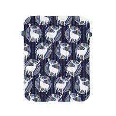 Geometric Deer Retro Pattern Apple Ipad 2/3/4 Protective Soft Cases