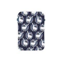 Geometric Deer Retro Pattern Apple iPad Mini Protective Soft Cases