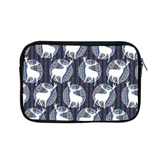Geometric Deer Retro Pattern Apple iPad Mini Zipper Cases