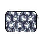 Geometric Deer Retro Pattern Apple iPad Mini Zipper Cases Front