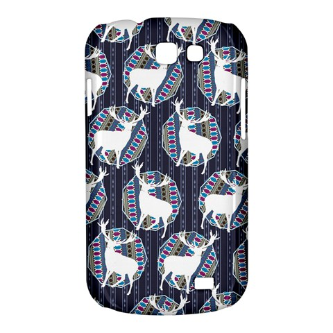 Geometric Deer Retro Pattern Samsung Galaxy Express I8730 Hardshell Case