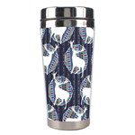 Geometric Deer Retro Pattern Stainless Steel Travel Tumblers Center