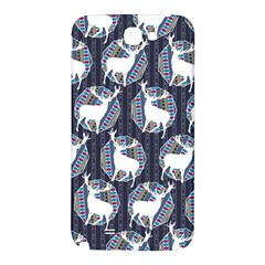 Geometric Deer Retro Pattern Samsung Note 2 N7100 Hardshell Back Case