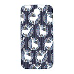 Geometric Deer Retro Pattern Samsung Galaxy S4 I9500/I9505  Hardshell Back Case Front