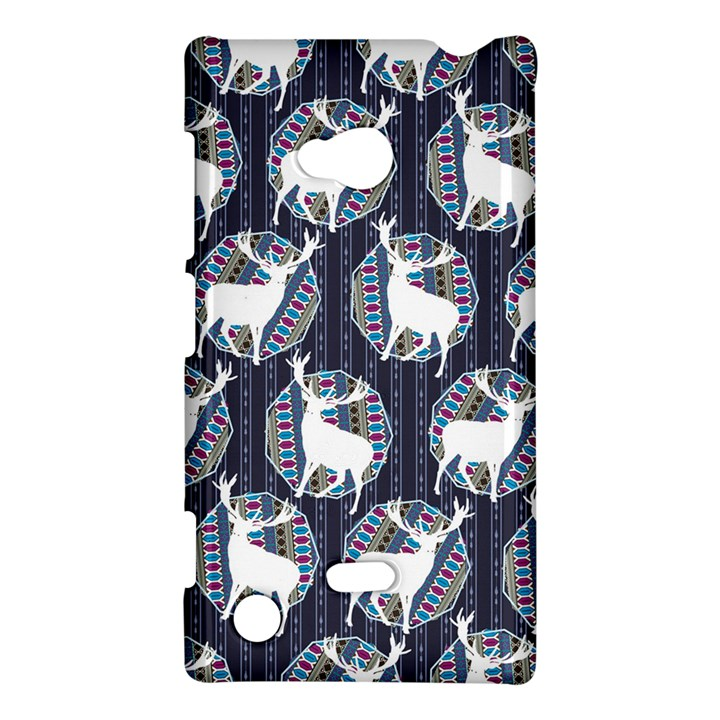 Geometric Deer Retro Pattern Nokia Lumia 720