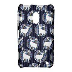 Geometric Deer Retro Pattern Nokia Lumia 620