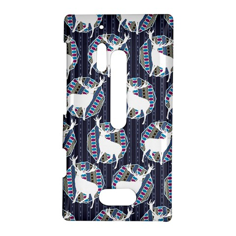 Geometric Deer Retro Pattern Nokia Lumia 928