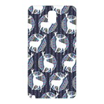 Geometric Deer Retro Pattern Samsung Galaxy Note 3 N9005 Hardshell Back Case Front