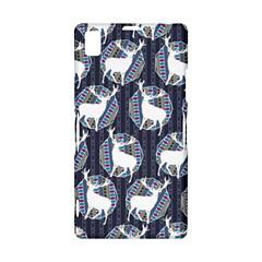 Geometric Deer Retro Pattern Sony Xperia Z1