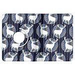 Geometric Deer Retro Pattern Kindle Fire HDX Flip 360 Case Front