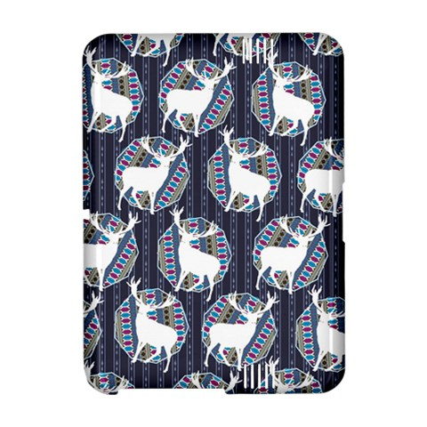 Geometric Deer Retro Pattern Amazon Kindle Fire (2012) Hardshell Case