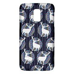 Geometric Deer Retro Pattern Galaxy S5 Mini