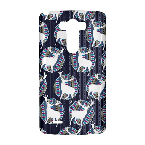 Geometric Deer Retro Pattern LG G3 Hardshell Case