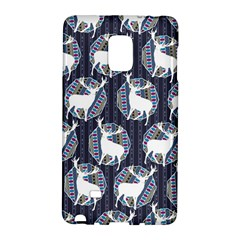 Geometric Deer Retro Pattern Galaxy Note Edge