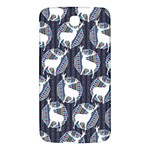 Geometric Deer Retro Pattern Samsung Galaxy Mega I9200 Hardshell Back Case Front