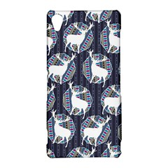 Geometric Deer Retro Pattern Sony Xperia Z3