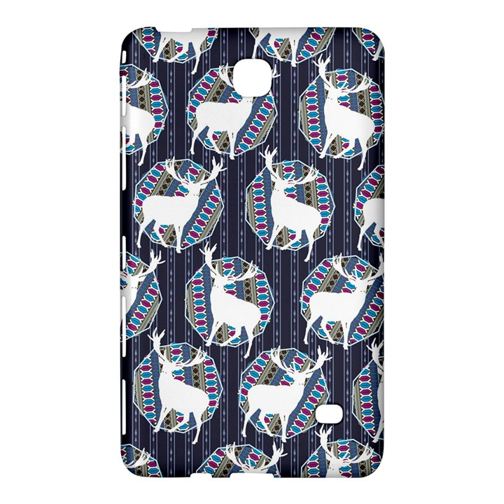 Geometric Deer Retro Pattern Samsung Galaxy Tab 4 (8 ) Hardshell Case