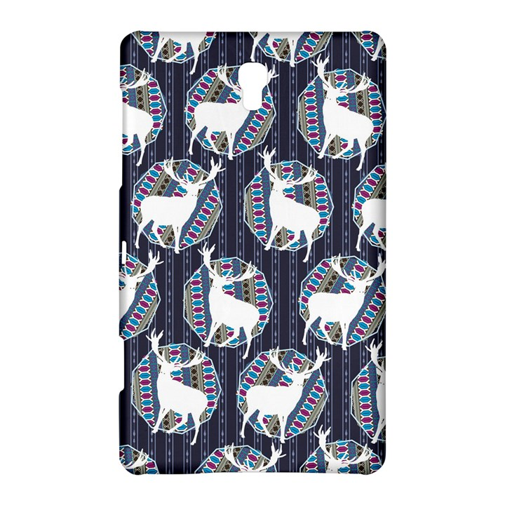 Geometric Deer Retro Pattern Samsung Galaxy Tab S (8.4 ) Hardshell Case