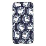 Geometric Deer Retro Pattern iPhone 6/6S TPU Case Front