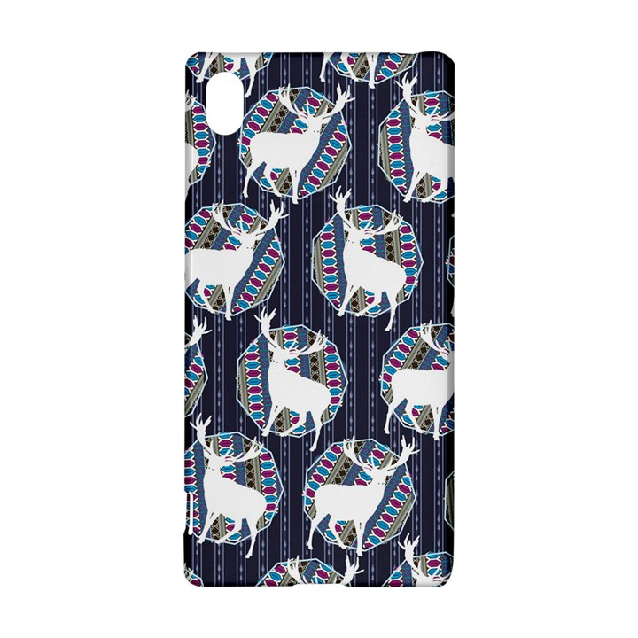 Geometric Deer Retro Pattern Sony Xperia Z3+