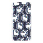 Geometric Deer Retro Pattern Apple Seamless iPhone 6 Plus/6S Plus Case (Transparent) Front