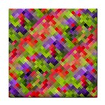 Colorful Mosaic Tile Coasters Front