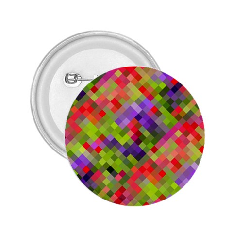 Colorful Mosaic 2.25  Buttons