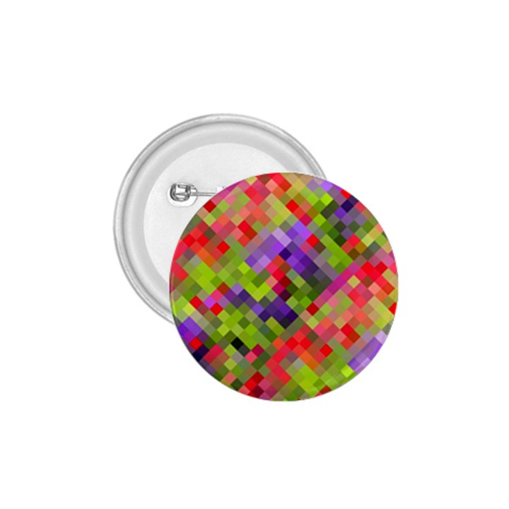 Colorful Mosaic 1.75  Buttons