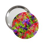 Colorful Mosaic 2.25  Handbag Mirrors Front