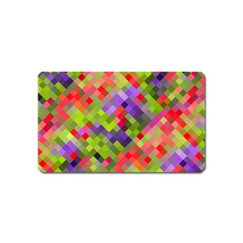 Colorful Mosaic Magnet (Name Card)
