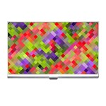 Colorful Mosaic Business Card Holders Front