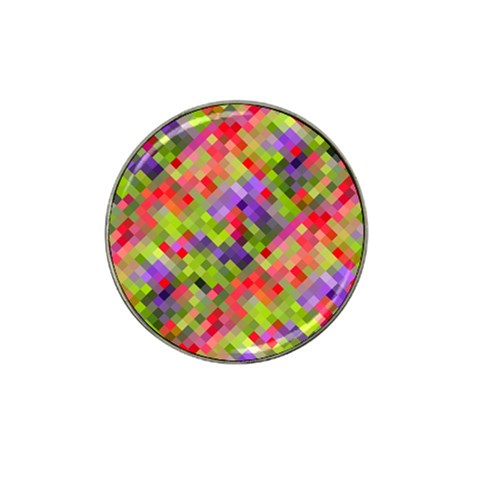 Colorful Mosaic Hat Clip Ball Marker