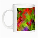 Colorful Mosaic Night Luminous Mugs Left