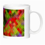 Colorful Mosaic Night Luminous Mugs Right