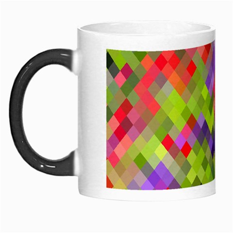 Colorful Mosaic Morph Mugs